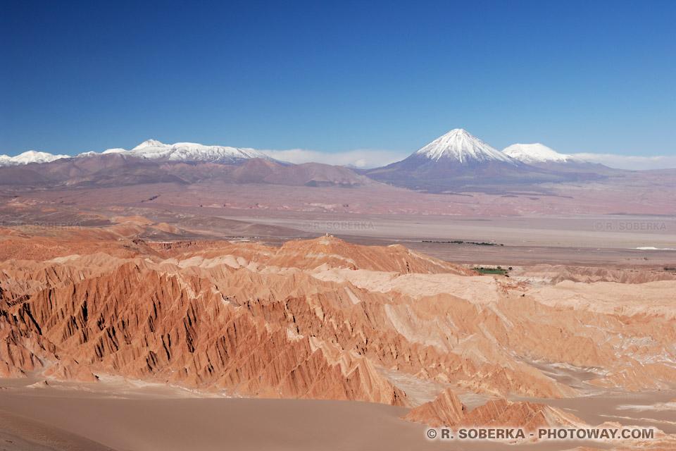 Valle de la Muerte région de à San Pedro de Atacama au Chili