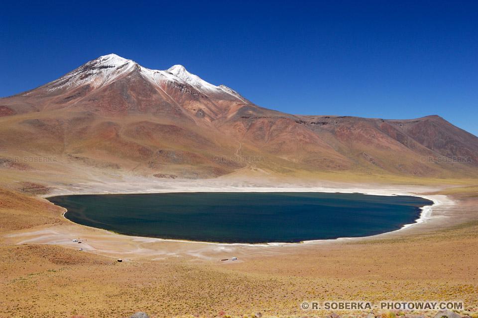 Lagune Miniques photo de la laguna Miñiques - Chili