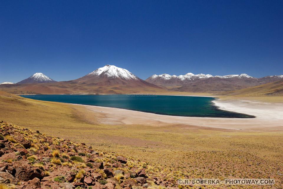 Lagune Miscanti photo au Chili
