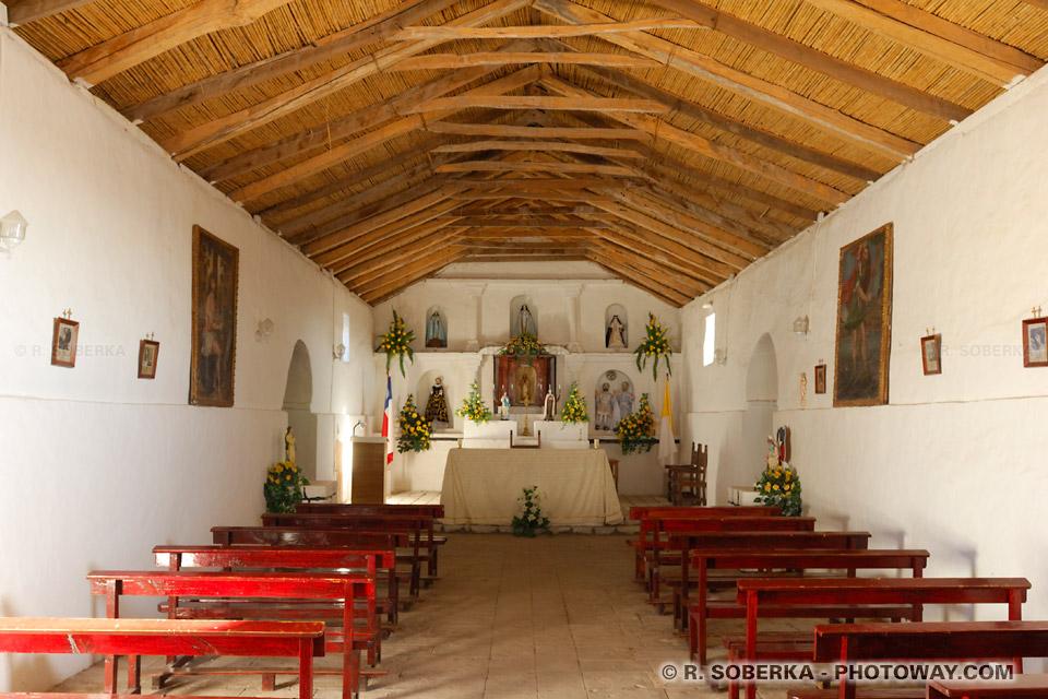 église de Toconao au Chili