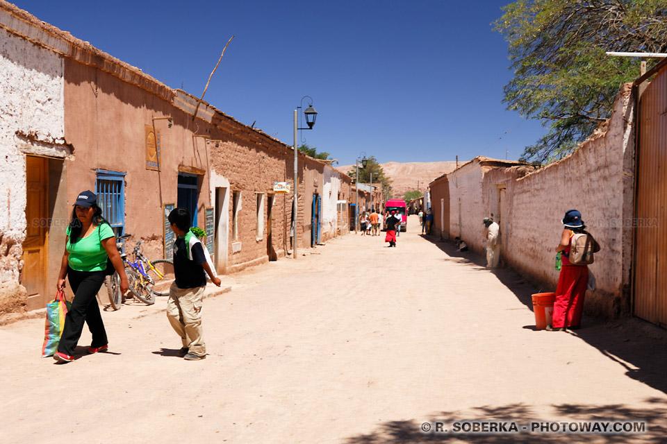photo du Village de San Pedro de Atacama au Chili