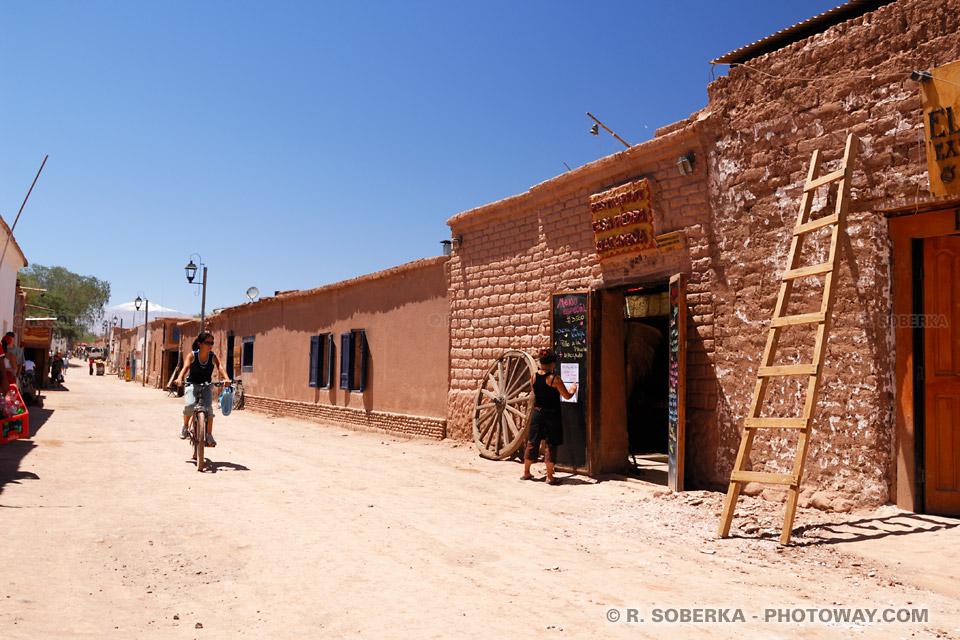 Guide de voyage Chili : image des restaurants de San Pedro de Atacama