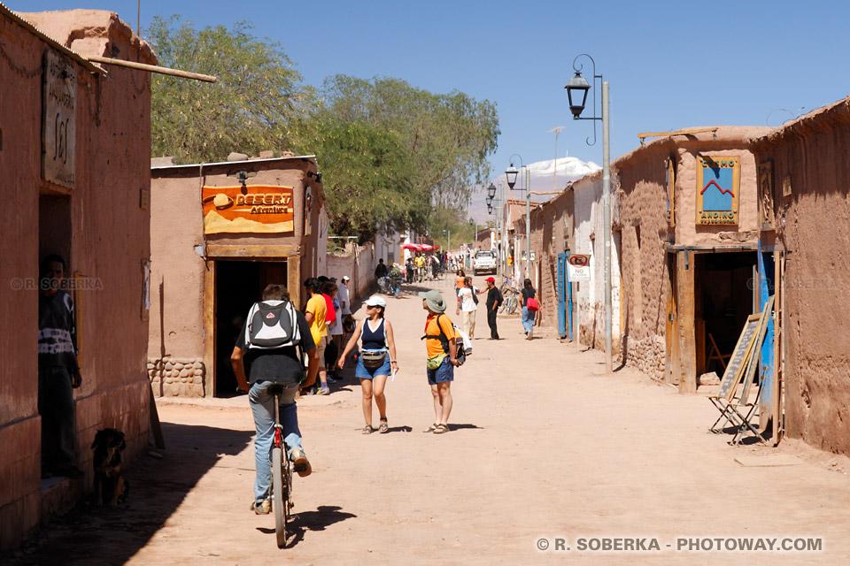 Image des agences de voyages à San Pedro de Atacama au Chili