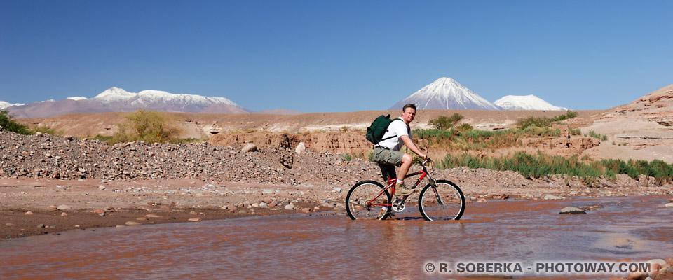 Image de locations de vélo à San Pedro de Atacama location de vélo au Chili