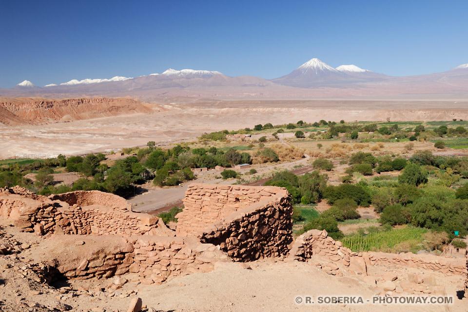 Image : Photo de l'oasis de San Pedro de Atacama au Chili