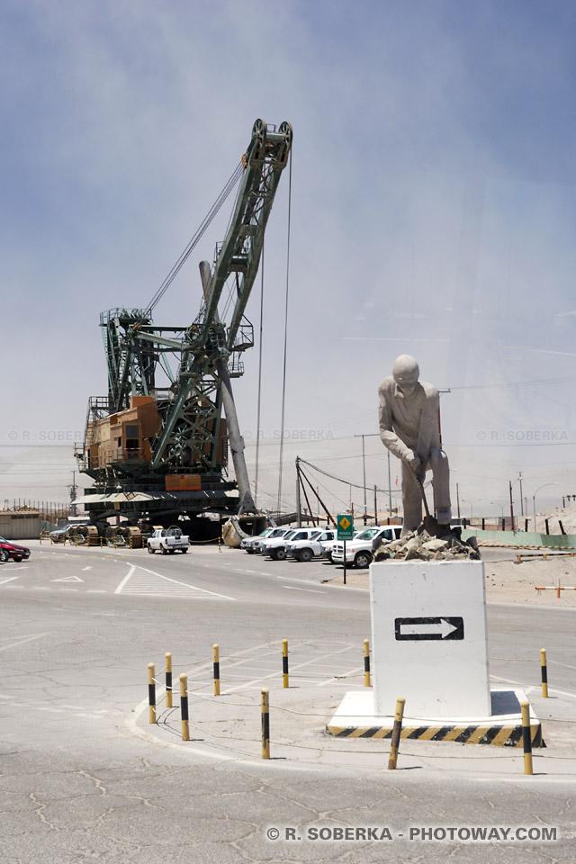 Informations sur la mine de cuivre Chuquicamata au Chili