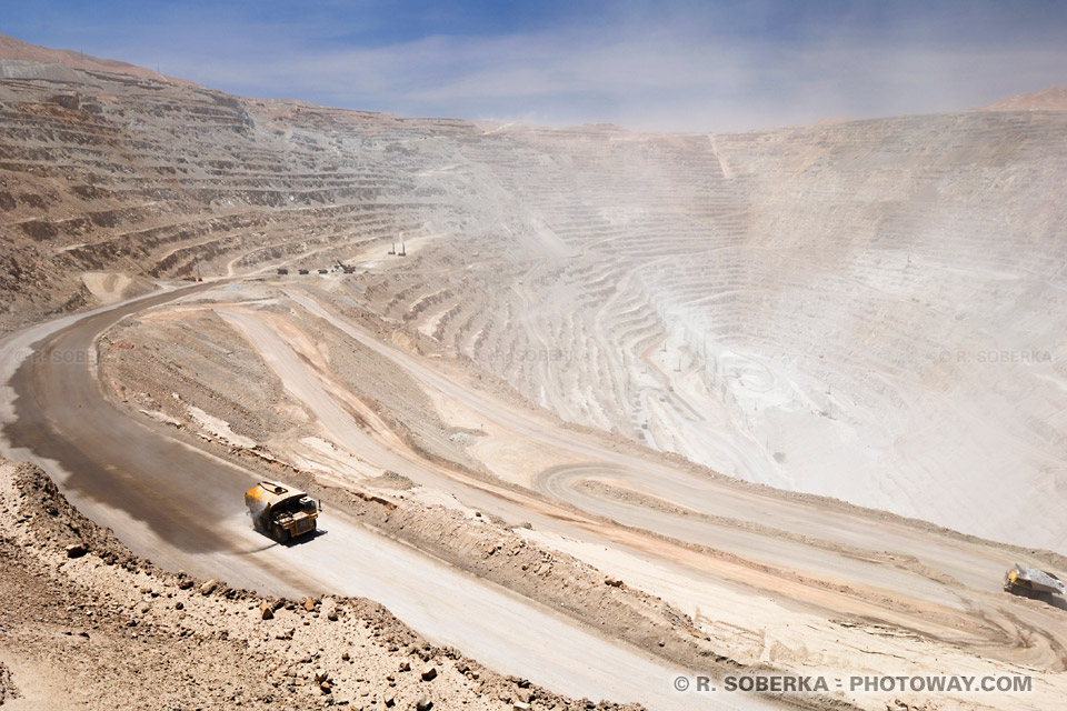 Mine de Chuquicamata au Chili - Histoire et photos