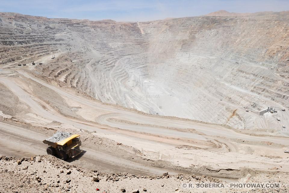 Visite Chuquicamata - Informations touristiques sur la mine au Chili
