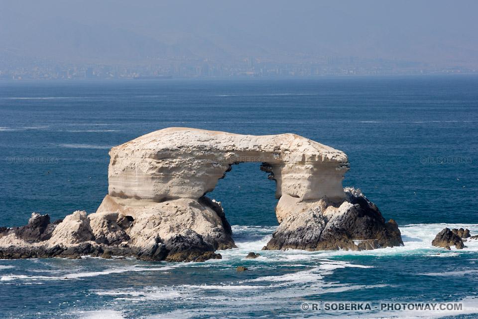 La Portada à Antofagasta photos au Chili de l'arche natgurelle la Portada