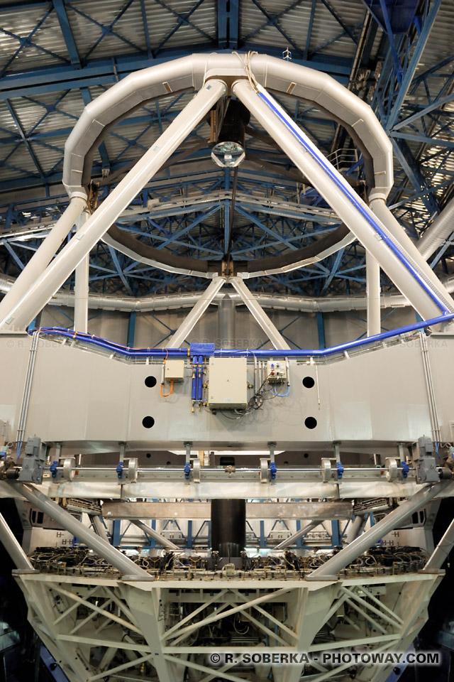 Plus grand télescope au monde photo Melipal VLT à Paranal au Chili