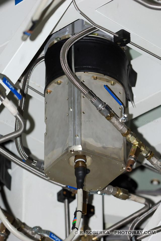 vérin hydroaulique de l'optique active de VLT : correction des abérrations