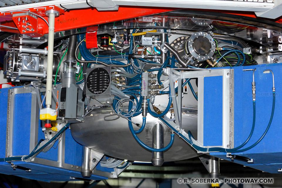 Spectromètre infra rouge capteur spectromètre télescopes VLT