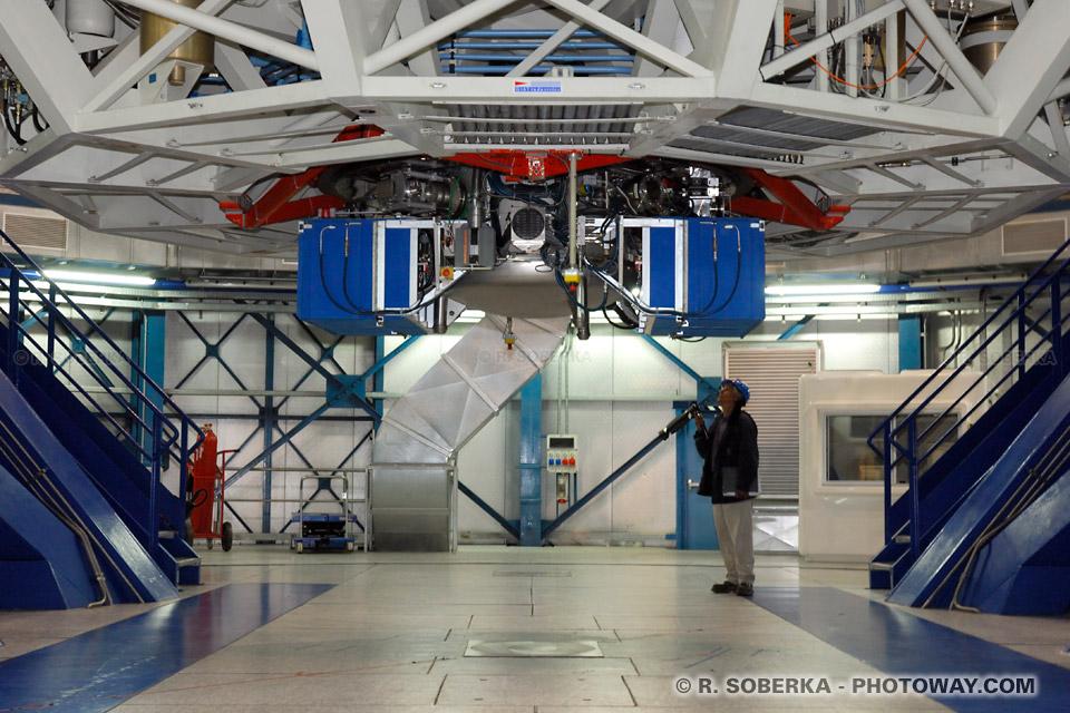 Photos télescopes au Chili photo télescope VLT à Paranal au Chili