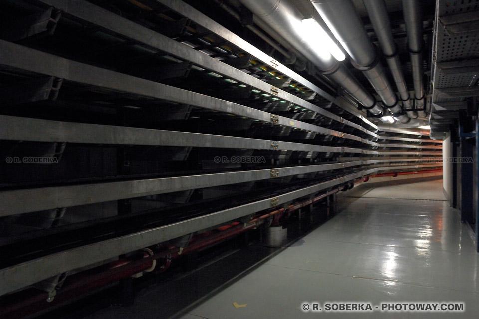Réseaux en fibres optiques des télescopes VLT à Paranal au Chili