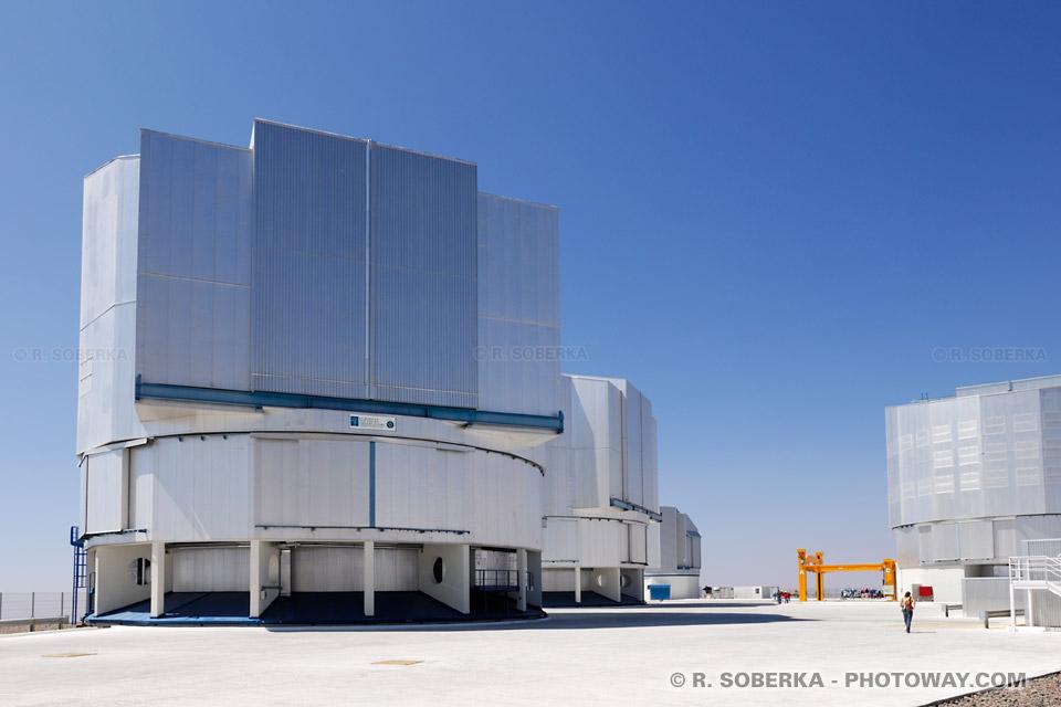 Télescopes géants au Chili photo télescope géant VLT au Chili