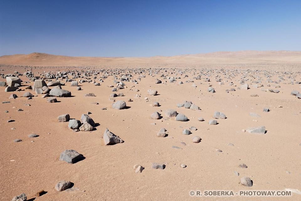 Paranal dans le désert d'Atacama au Chili