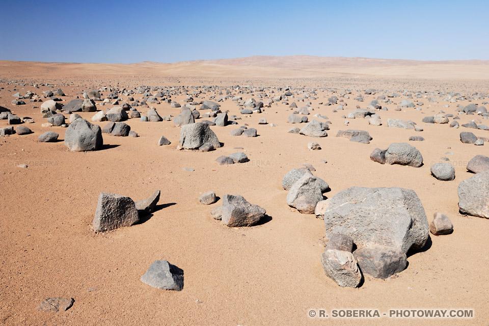 Image du désert d'Atacama : photo désert le plus sec au monde sans vie