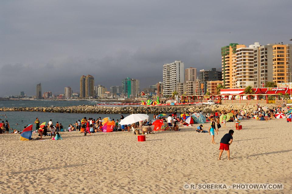 Plages au Chili, photos plages d'Antofagasta