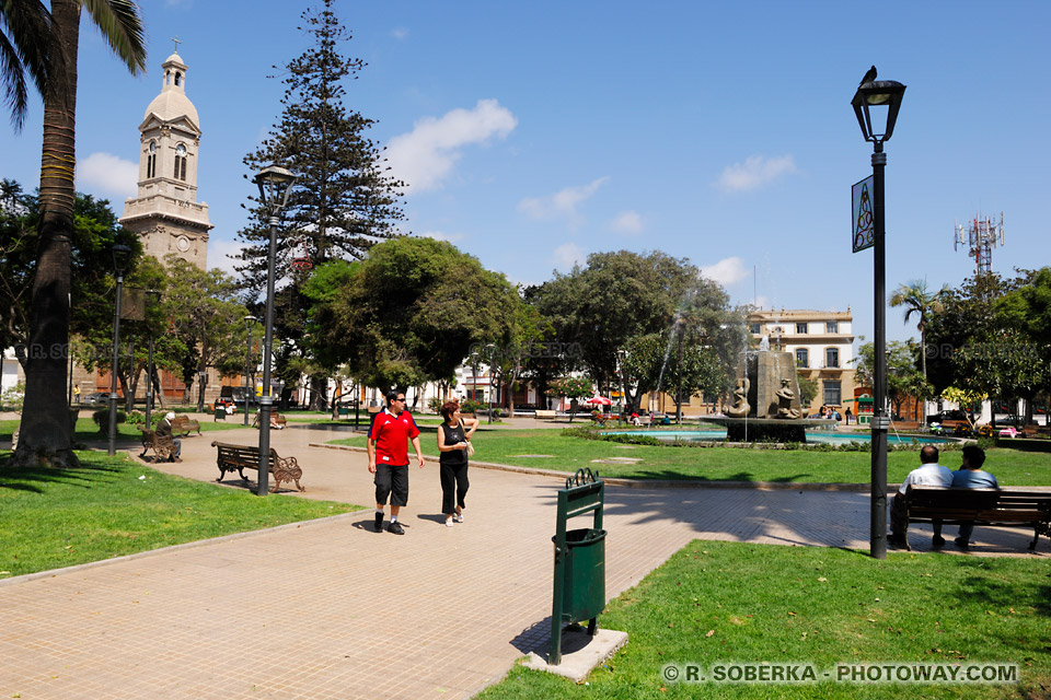 La Serena au Chili photo de la ville de La Serena au Chili