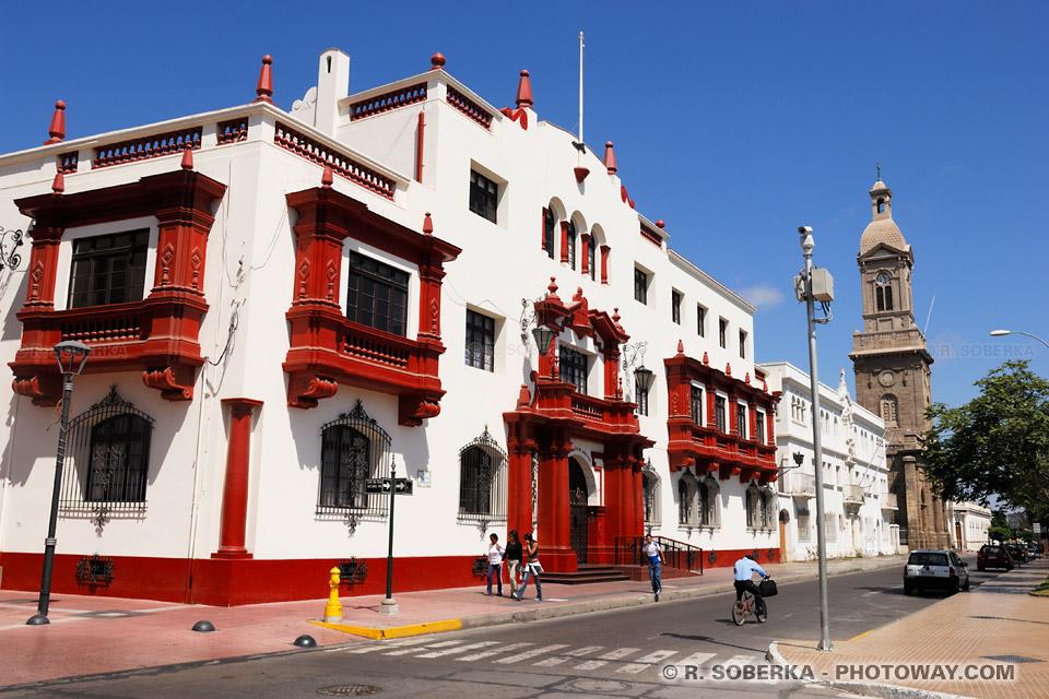 Image du Chili image des bâtisses coloniales de la ville de La Serena