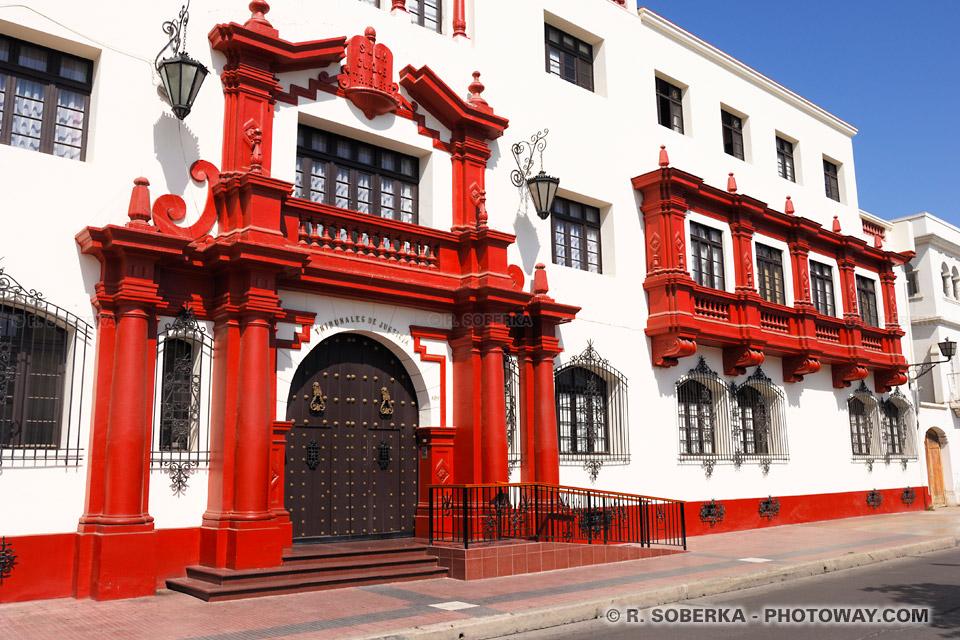 Tribunal de justice de La Serena photo de voyage au Chili