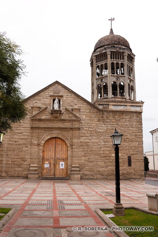 Iglesia Santo Domingo à La Serena visite de la ville au Chili
