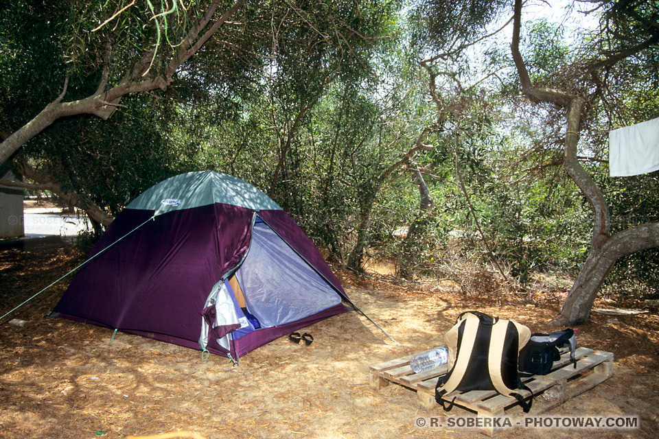Hébergement à Chypre. Guide Photos de campings guide de voyages Chypre