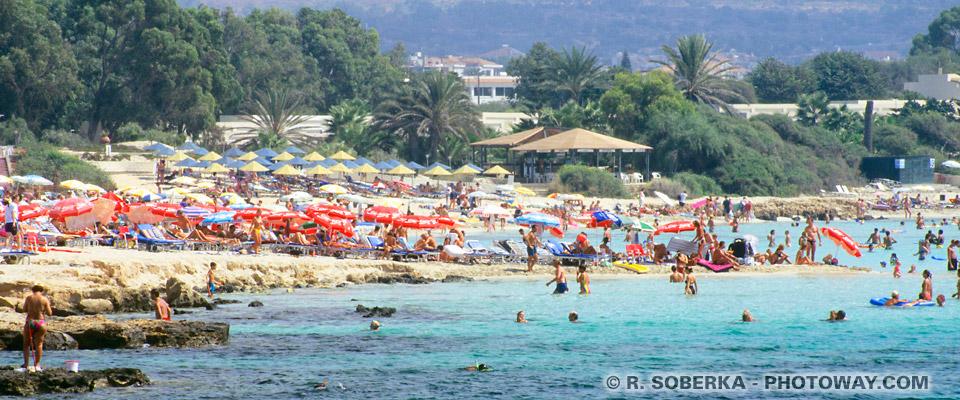 Image du tourisme à Chypre photo plage et guide touristique à Aya Napa