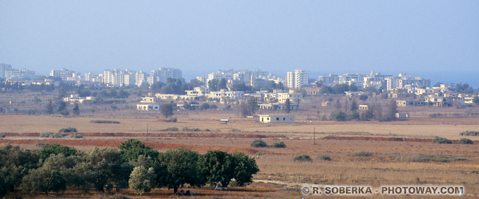 Image et Photo du no man's land à Chypre photos de Famagouste ville morte