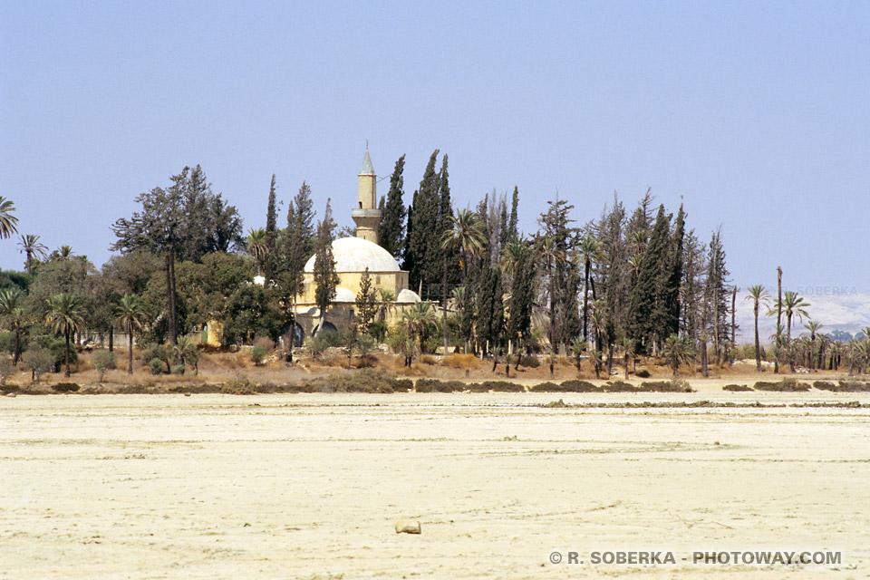 image Photo d'un lac salé asséché photos lacs salés asséchés à Chypre