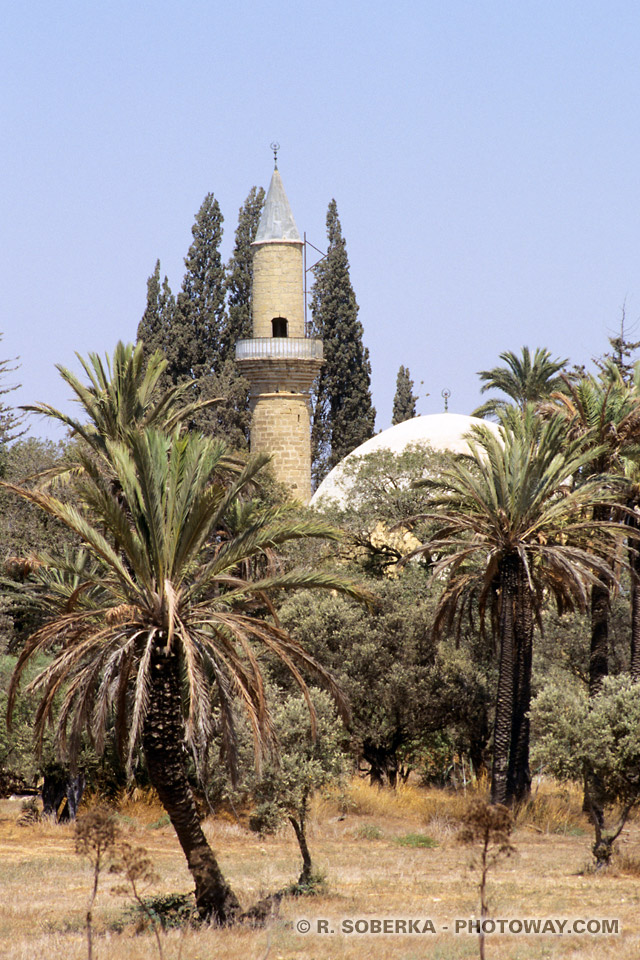image Photo mosquée Tekke Hala Sultan photos mosquées turques à Chypre