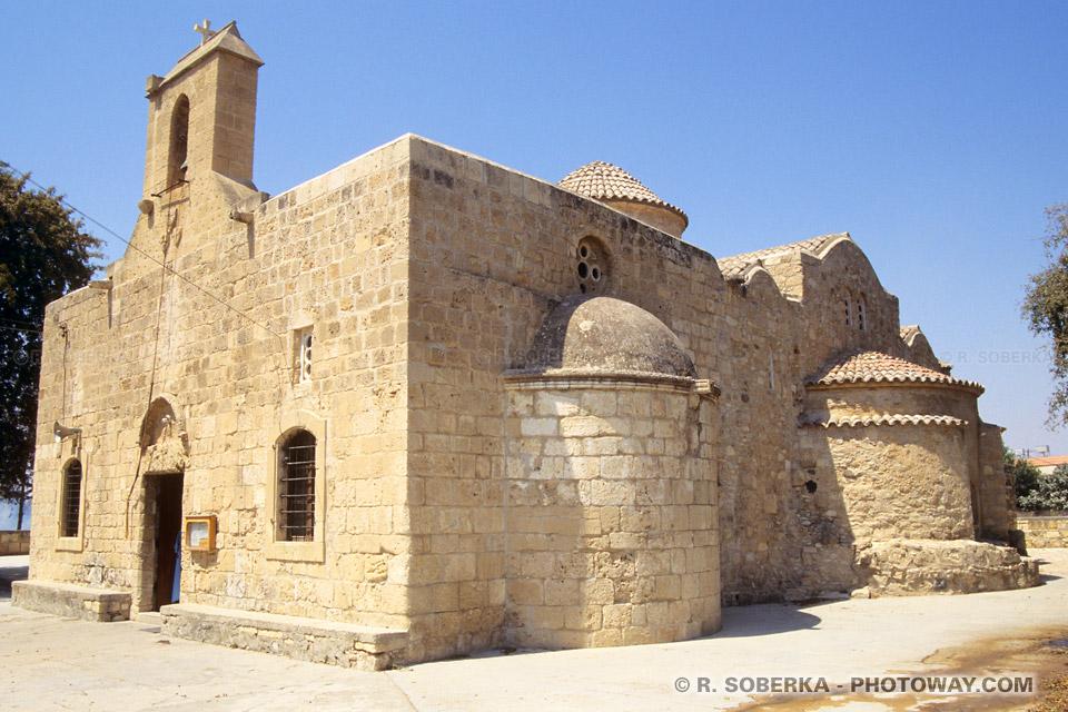Image photo église orthodoxe à Chypre photos à Kiti de Panayia Angeloktisti