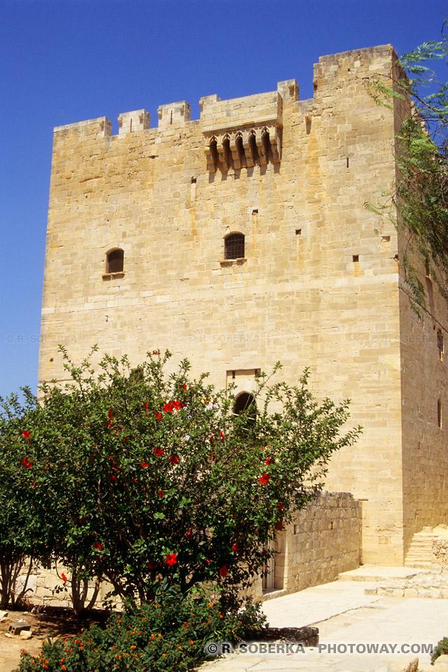 images de citadelle de Kolossi visite à Chypre