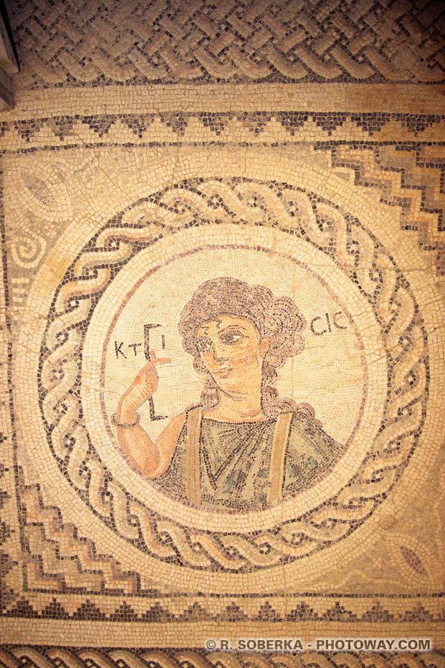 images et Photos du pied romain photo de Ktisis visite de la maison d'Eustolios