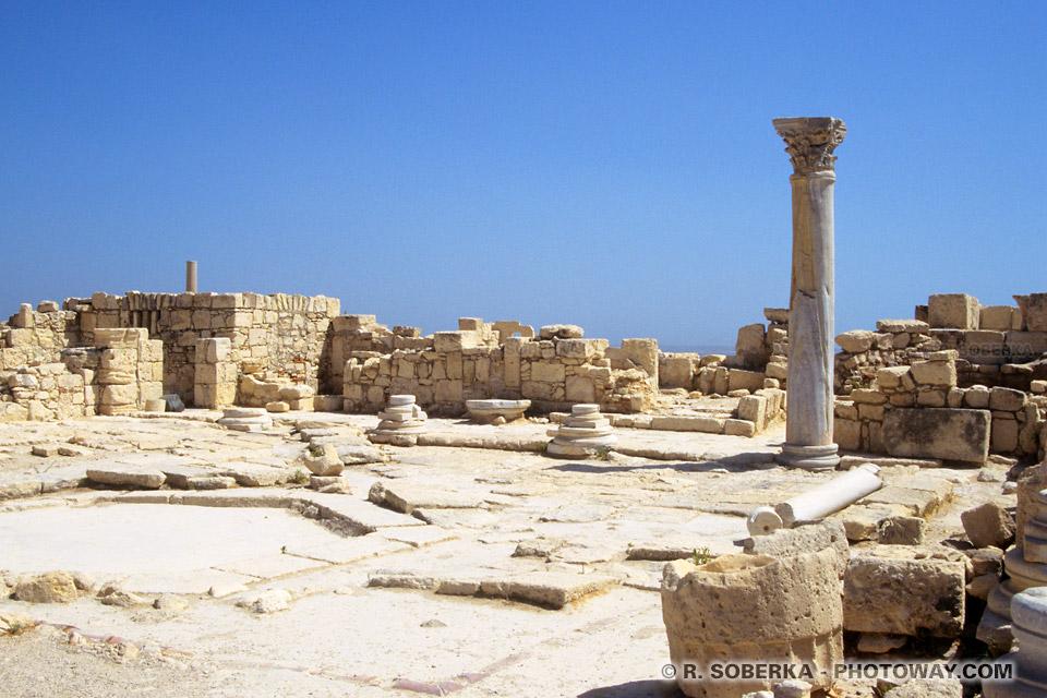 image de la Visite de sites archéologiques àKourion reportage à Chypre