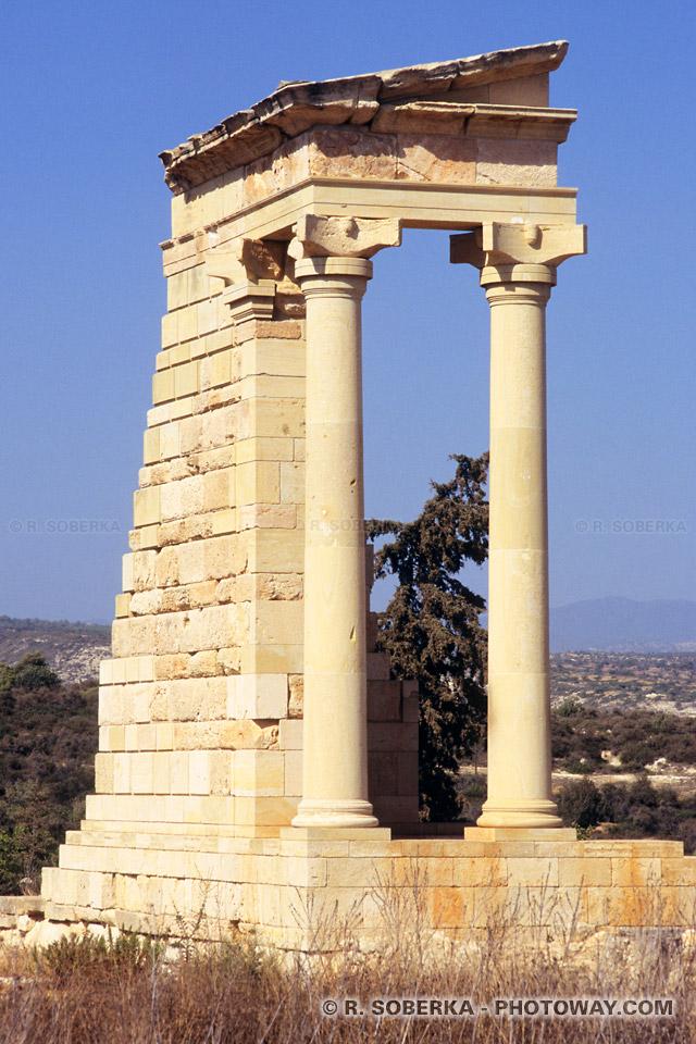 image Photos du sanctuaire d'Apollon photo site archéologique de Kourion