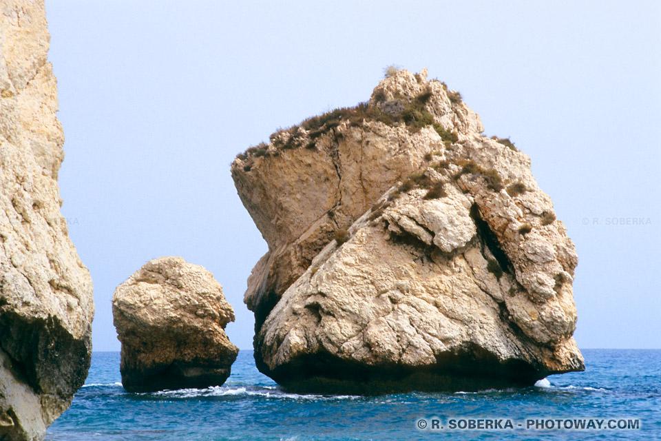 images Rocher d'Aphrodite photo de la déesse de l'amour née à Chypre