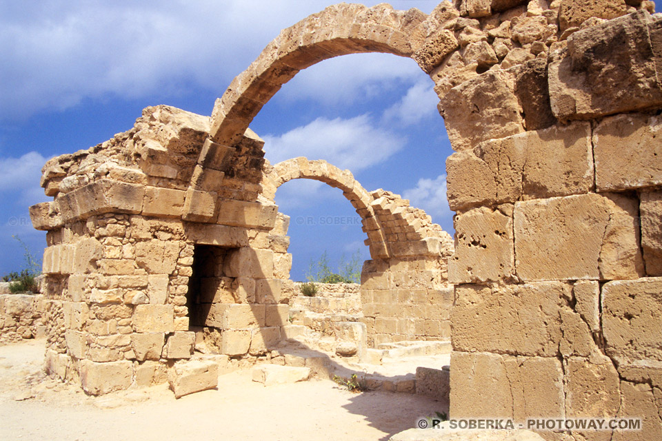 images Photo de Paphos à Chypre photos du site archéologique de Paphos