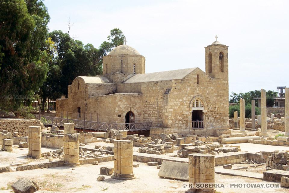 Image d'églises médiévales photo de l'église médiévale de Paphos