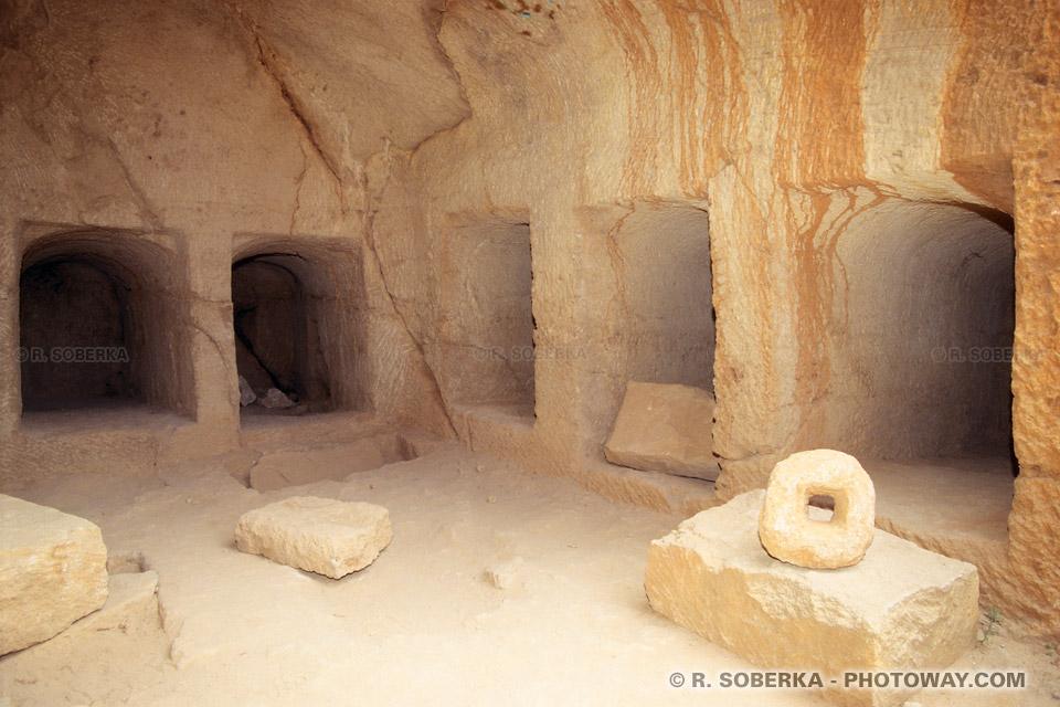 images Site archéologique de Paphos à Chypre photos et visite de tombes