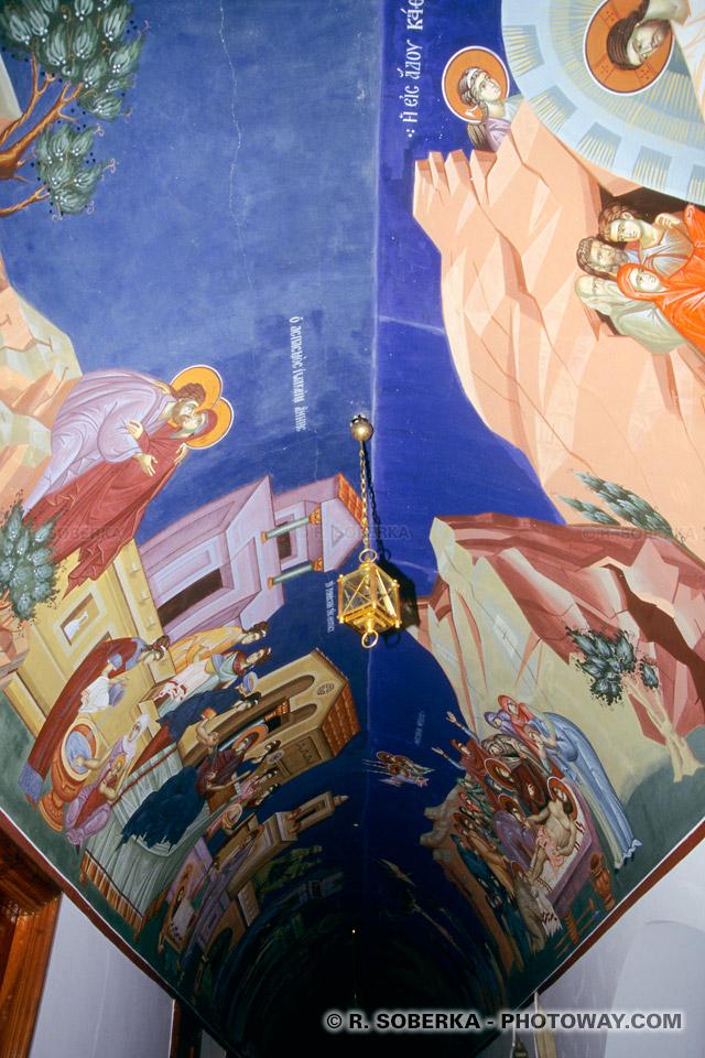 images de Voyages à Chypre peintures et décorations Monastère de Kykko