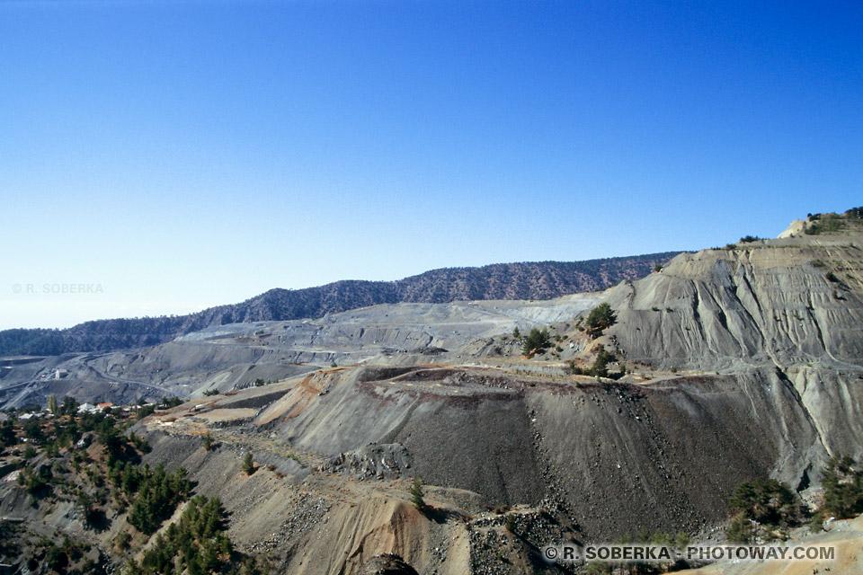 images Photo de l'amiante photos d'une mine d'amiante à Amiandos Chypre