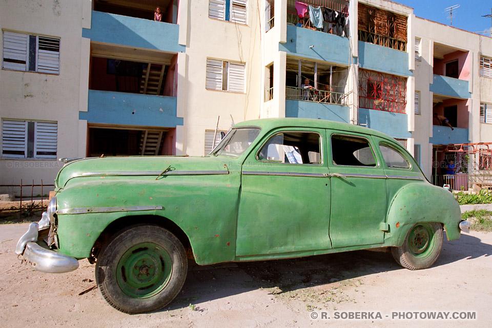 image Photos de vieilles voitures américaines photo des années 50 à Cuba
