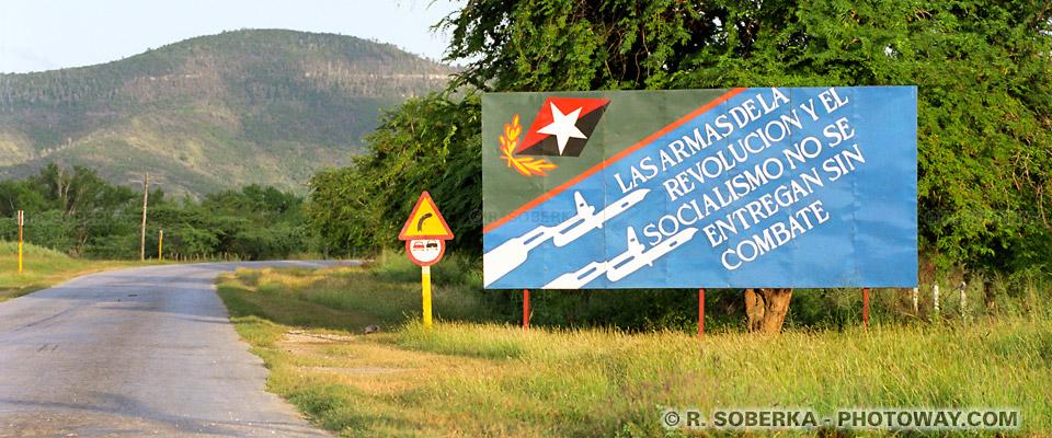 image de slogans photo révolution Cubaine