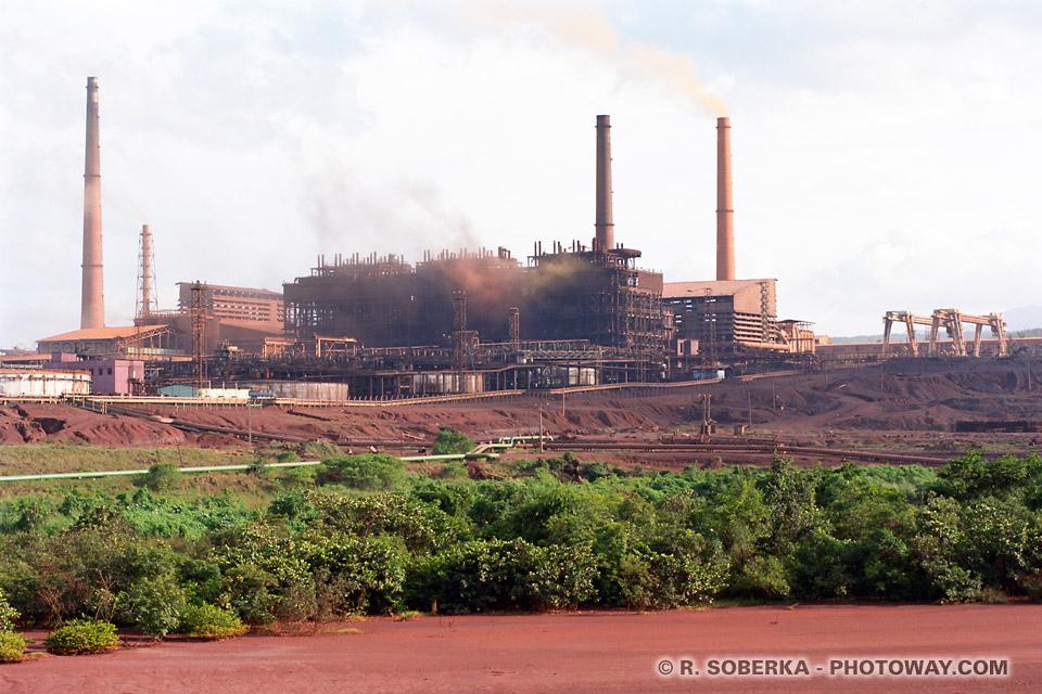 Image Photos de zones industrielles à Cuba photo polution region de Moa, reportage photo à Cuba sur Photoway