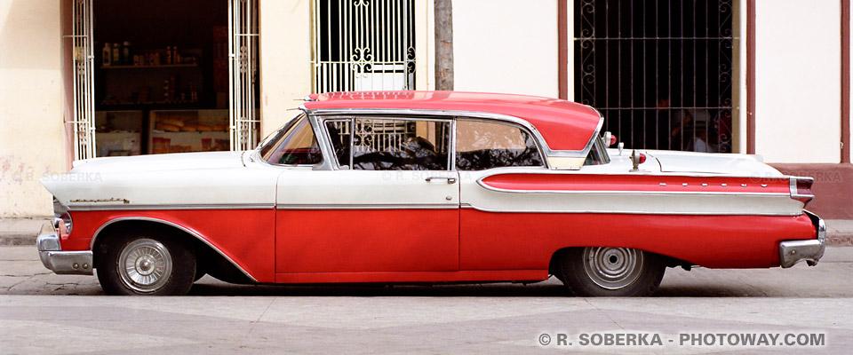 image Photos de voitures américaines photo vieille voiture américaine Cuba
