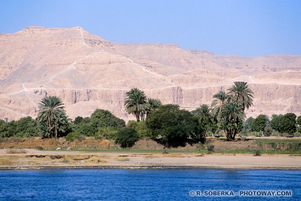 Photos de la nécropole thébaine photo reportage Louxor en Egypte