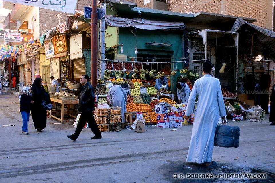 Images de voyages en Egypte voyage à Louxor Photos de ruelles photo à Louxor