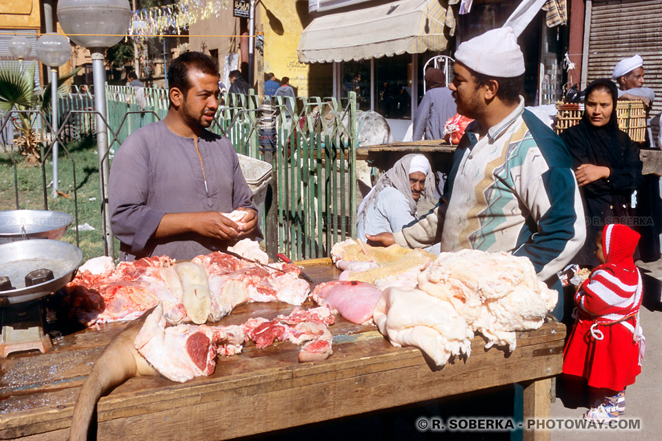 Photos de marché à Louxor photo reportage Egypte en images