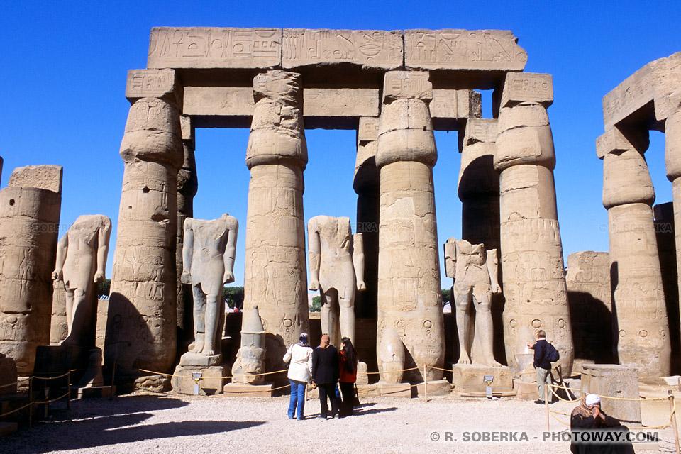 Images Egypte site touristique de Louxor guide touristique en Egypte